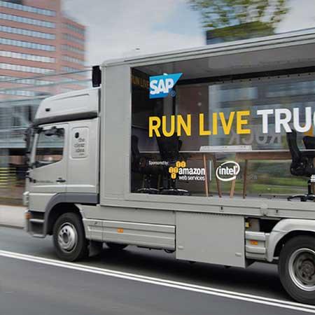 SAP Run Live Truck